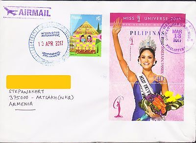 Miss Universe Philippines Air Mail To Nagorno Karabakh Armenia R17671