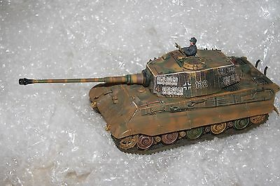 1/32 Unimax FORCES of VALOR KING TIGER '132' TANK Normandy 1944 Nr Mint (NO BOX)