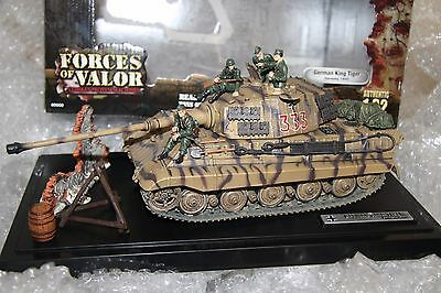 1/32 FORCES of VALOR KING TIGER '333' TANK Germany 1944 Mint Display (inc. BOX)
