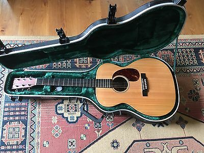 Martin 000X1AE Electro-Acoustic Guitar PROFF SET UP with SKB Hard Case