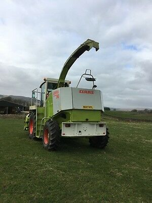 Claas 840 Forage harvester