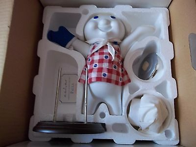 Pillsbury Doughboy Baked To Perfection Porcelain Doll By Danbury Mint With Box