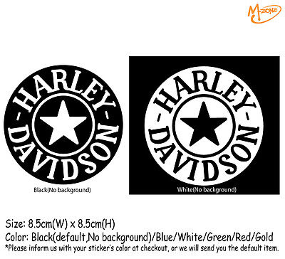 Harley Davidson Stickers Reflective Motorcycle Decals Gas Cap Best Gift