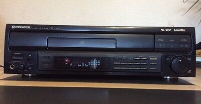 PIONEER CLD-1850 PAL/NTSC Laser Disk Player CD CDV LD