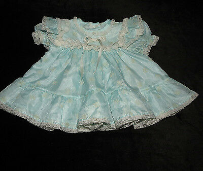 Gorgeous Vintage Alexis Baby Girls Lacy Layered Dress 3 Months Polka-Dot Floral