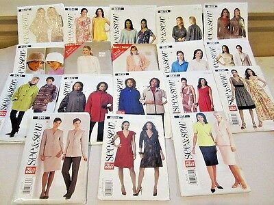 160 VTG SEWING PATTERNS 50's & UP VOGUE SIMPLICITY McCALLS BUTTERICK KWIK + MORE