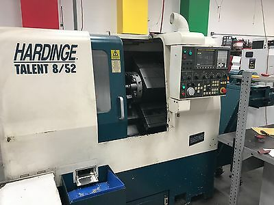 2003 Hardinge Talent 8/52 with Parts Catcher and Chip Conveyor