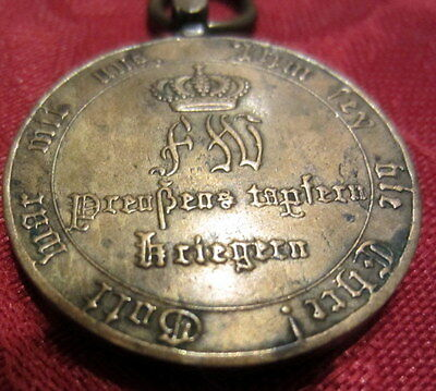 J.D. Bliese Germany Prussia 1814 Napoleonic Wars Military Medal Combatants