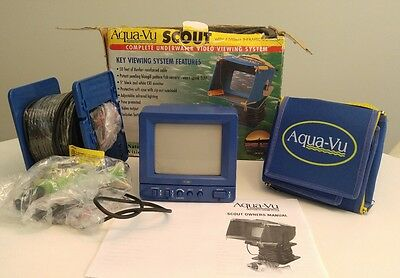 Aqua-VU Scout Underwater Video Viewing System