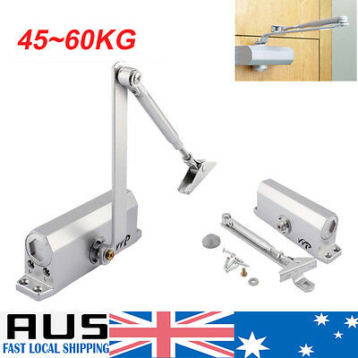 Adjustable Automatic Fire Rated Overhead Door Closer Home Speed Control 45-65KG