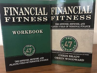 Financial Fitness 47 Principals Pack Book, Workbook & 8 CD COMPLETE BOX SET