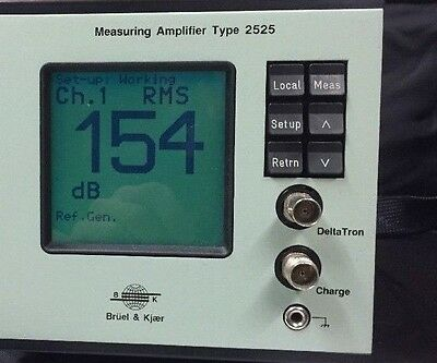 Bruel & Kjaer Measuring Amplifier Type 2525