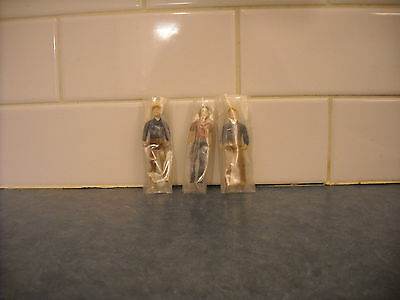 Lot Breyer Stablemate Farm Hand Workers Articulated Arm Knee Leg Man Woman Nip
