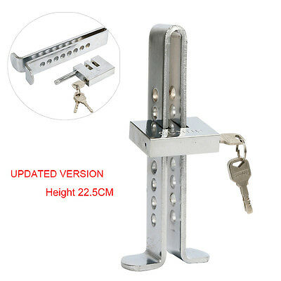 Brake Pedal Lock Security Car Stainless Steel Clutch Lock Anti-theft Device