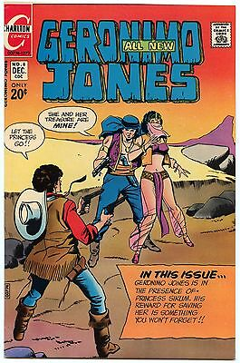 Geronimo Jones 8 Dec 1972 VF- (7.5)