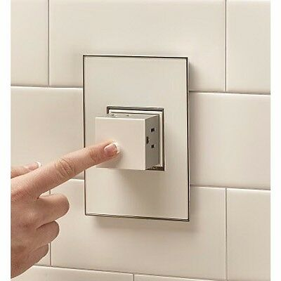 Legrand Adorne Pop-out Outlet, 1-gang ARPTR151GW2 NEW IN BOX