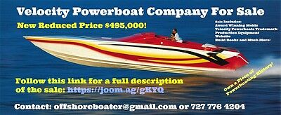 Velocity Powerboat Company For Sale Huge Price Reduction