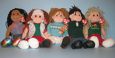 Ty Beanie Boppers Merry Margaret, Jolly Janie, Cool Cassidy **FREE SHIPPING**
