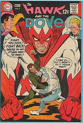 Hawk and the Dove 2 Nov 1968 VF- (7.5)