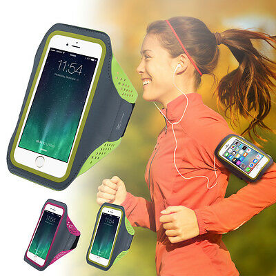 "Sport Jogging Arm Band Strap Gym Running Strap Pouch For 4.7"" 5.5"" Mobile Phones"