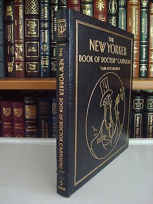NEW YORKER BOOK OF DOCTOR CARTOONS Easton Press Leather