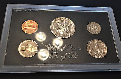 1971 UNITED STATES (US) 5 Coin PROOF SET ** FDC ** Beautiful Coins!!