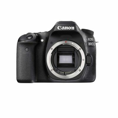 Canon EOS 80D DSLR Camera Body Multi (ship lens kit box) Stock in EU Authenti