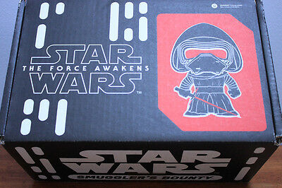 STAR WARS The First Order Smuggler's Bounty BOX with patch & badge