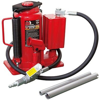 20-Ton Air Hydraulic Bottle Red Jack Auto Garage Mechanic Tire House Lifting
