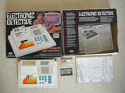 ULTRA RARE !!! electronic detective / IDEAL / vintage 1979