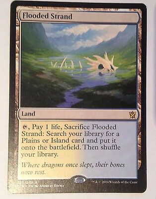 FLOODED STRAND – KHANS OF TARKIR NM, MTG Magic the Gathering