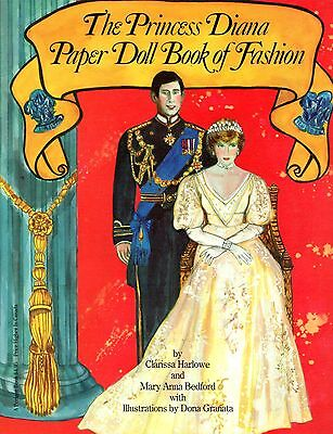 The Princess Diana Paper Doll Book of Fashion by Clarissa Harlow Mary A. Bedford