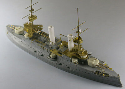 SS-MODEL 700396 1/700 Resin model kit Russian Tsesarevi Battleship