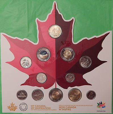2017 Canada 150 Proof Like Set Including Collector Card