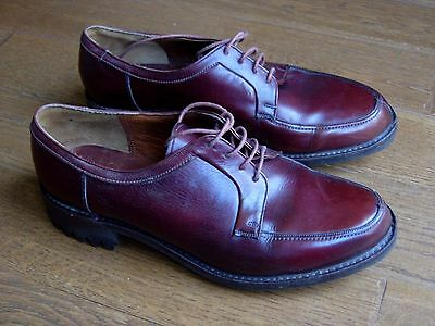 VINTAGE BARKERS COUNTRY SHOES.COMMANDO SOLES by ITSHIDE.UK 6.5.MADE IN ENGLAND