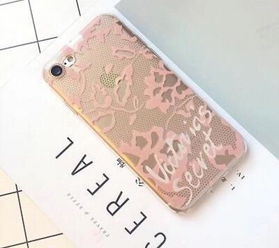 Light Pink Lace Victoria Secret Phone Case For iPhone 7 New