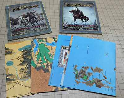 AD&D 1st ed. Forgotten Realms Campaign Set - Maps and Books!
