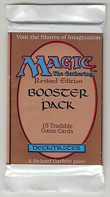 1x Revised Edition Booster Pack 3ED MTG