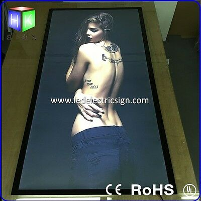 A1 size magnetic frame led light box sign for advertising for photography