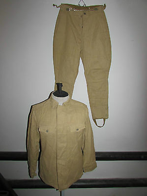 Russian soviet red army summer uniform soldier OKZK army complex protective suit