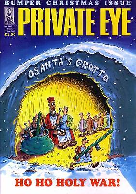 PRIVATE EYE 1043 - 14 - 27 Dec 2001 - BUMPER CHRISTMAS ISSUE