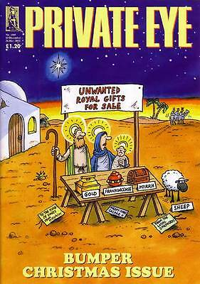 PRIVATE EYE 1069 - 13 - 26 Dec 2002 - BUMPER CHRISTMAS ISSUE