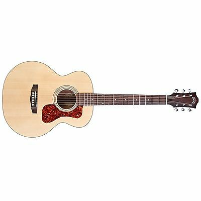 Guild Jumbo Junior.3/4 size acoustic/electric guitar with gig bag