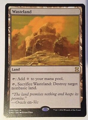 Wasteland - Eternal Masters, NM MTG Magic the Gathering