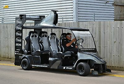 F1 style six seater race golf cart / buggy – promotional vehicle & people mover