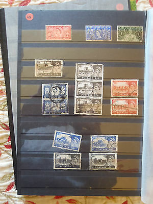 Collection of high value GB Stamps