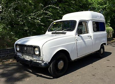 Renault 4 Van Food truck coffee van In fantastic rust free, solid condition!!