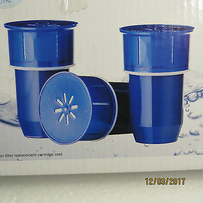 Aquaport Benchtop/Jug Water Filter Refill Replacement Cartridge..Sealed New