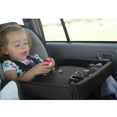 Portable Safety Kids Baby Car Seat Travel Tray Activity Drawing Board Table