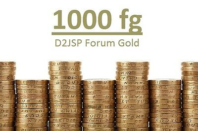 D2jsp 1000 Forum Gold